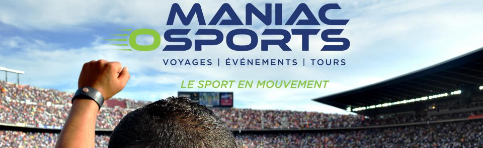 Agence de voyage sportif Maniac-O-Sports de Sainte-Julie
